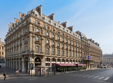 Façade du Hilton Paris Opéra, ancien Grand Hotel Terminus